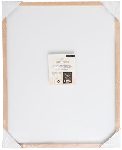 "204968 Maggie Holmes Magnet Board-16""X20"" Black & White"