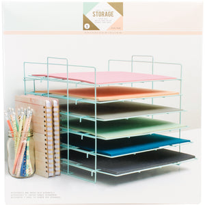 221618 Crate Paper Desktop Storage Paper Rack