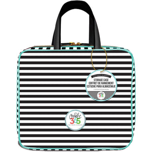 "260392 Happy Planner Storage Case 12""X10.5""X4"" Striped"