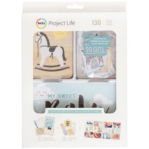 275032 Project Life Value Kit 71/Pkg Little You Boys