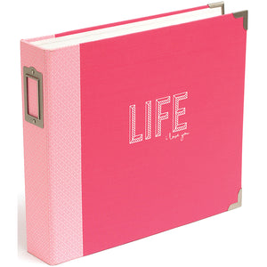 "289931 Project Life D-Ring Album 12""X12"" Coral Edition"