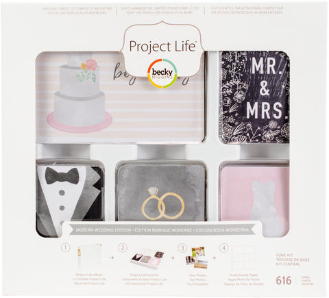 291815 Project Life Core Kit Modern Wedding