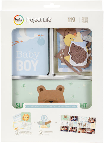 291820 Project Life Value Kit 120/Pkg Lullaby Boy