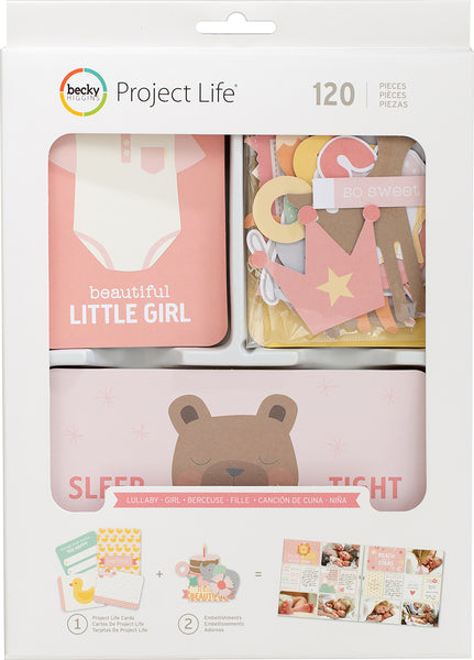 292122 Project Life Value Kit 120/Pkg Lullaby Girl