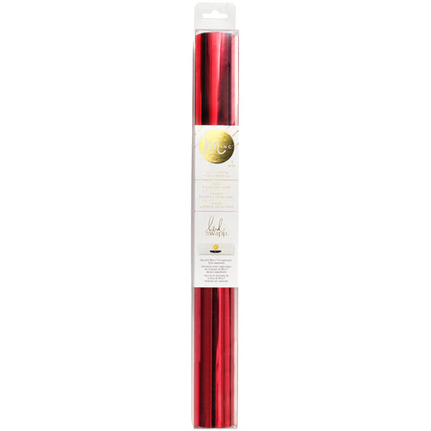 "297343 Heidi Swapp Minc Reactive Foil 12.25"" Red 10' Roll"