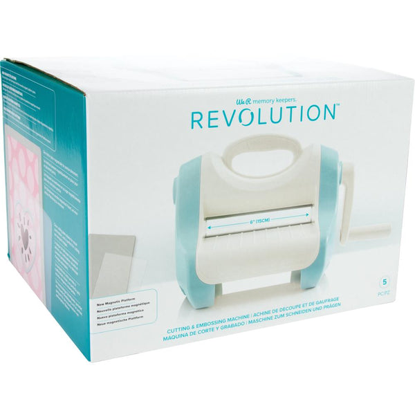 We R Memory Keepers Revolution Cutting & Embossing Machine + ENVIO GRATIS