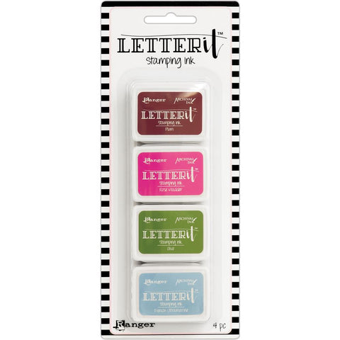 315810 Ranger Letter It Stamping Ink Set #2