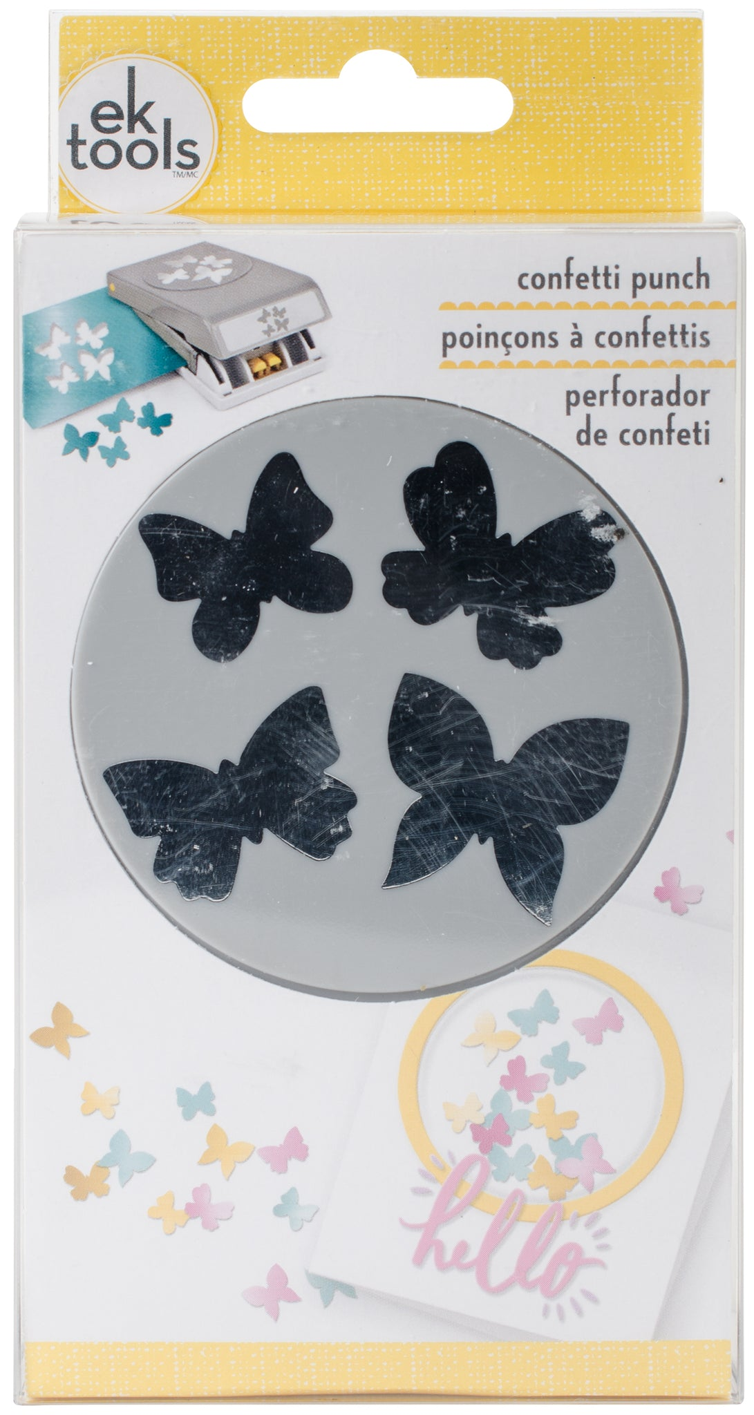 317536 Large Punch-Confetti Butterfly