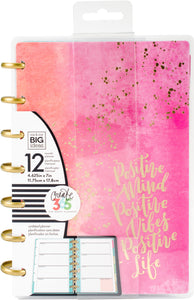 "337333 Happy Planner 12-Month Undated Mini Planner 5.125""X7.5"" Live Loud"