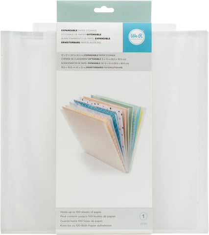 "337480 We R Expandable Paper Storage 12.5""X13"""