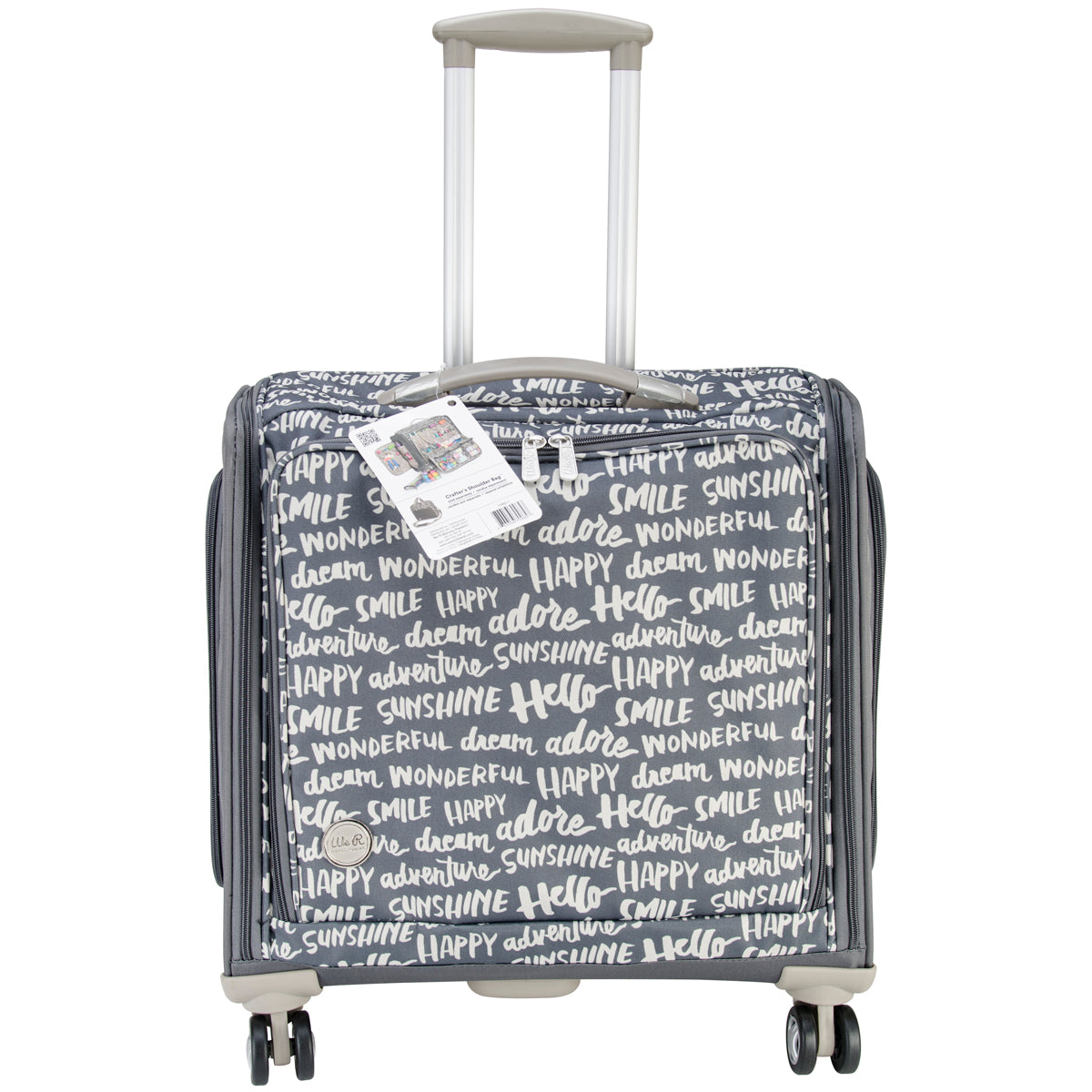 361862 We R 360 Crafter's Rolling Bag-Charcoal