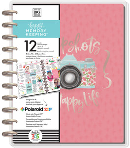378858 Happy Memory Keeping Undated 12-Month Big Planner Painted Memories