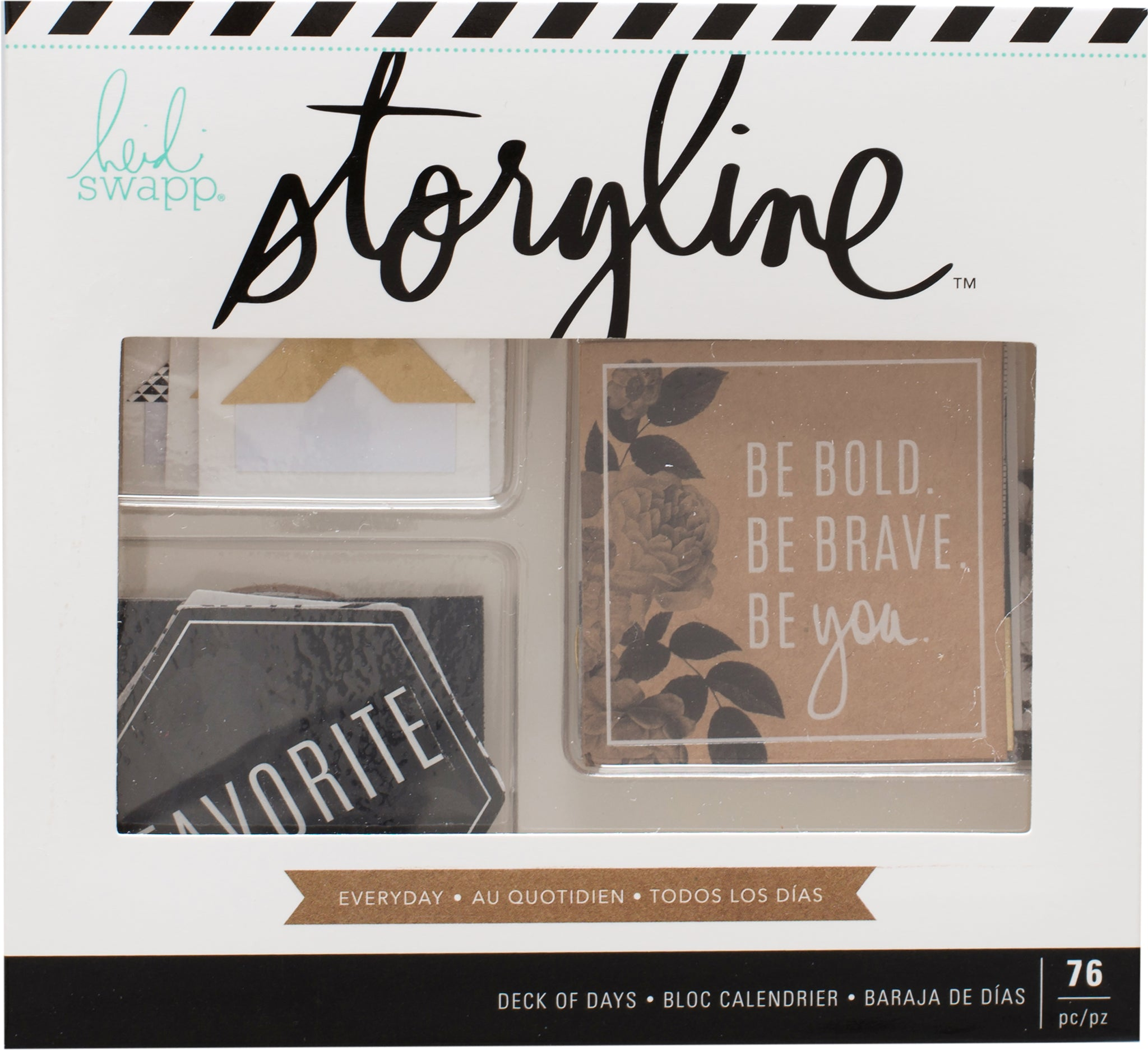 380328 Heidi Swapp Storyline2 Deck Of Days 76/Pkg Everyday