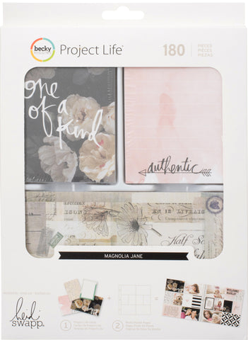 380394 Project Life Value Kit 180/Pkg Magnolia Jane