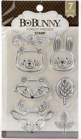 391871 BoBunny Stamps Forest Friends