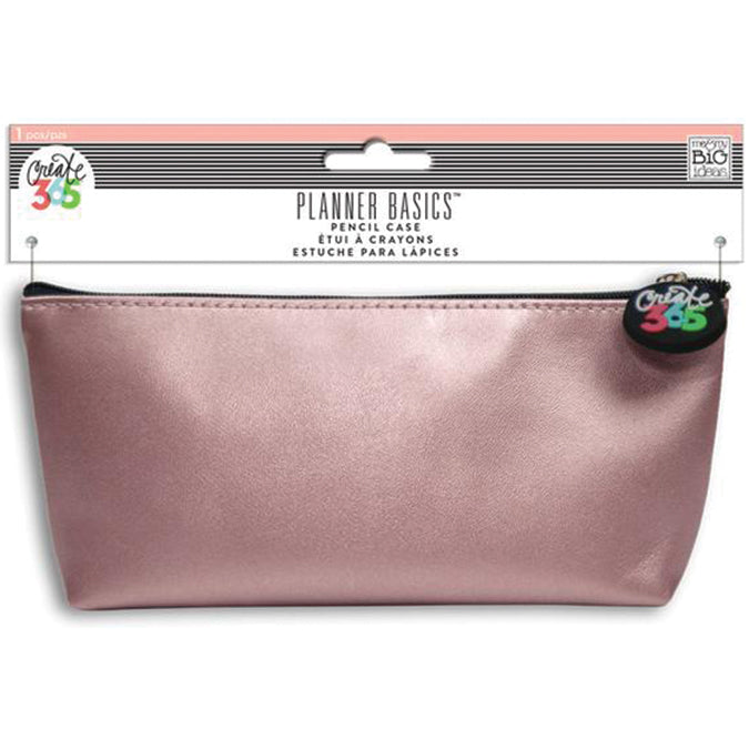 "440982 Happy Planner Pencil Pouch 3.5""X8.25"" Rose"