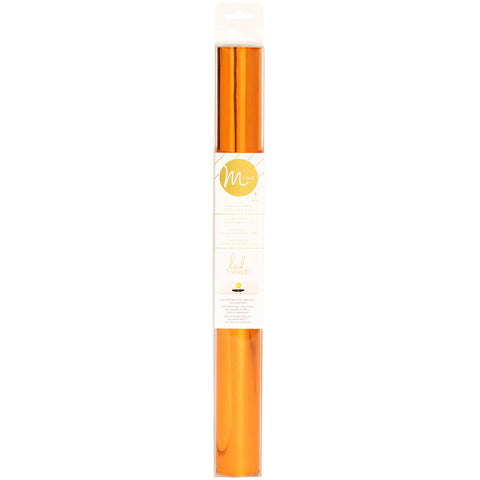 "485049 Heidi Swapp Minc Reactive Foil 12.25"" Orange 10' Roll"