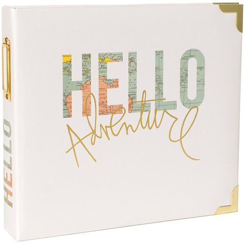 "530135 Project Life D-Ring Album 8""X8"" Hello"