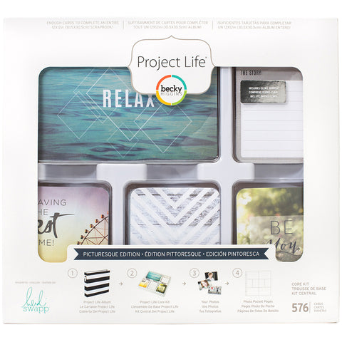 530377 Project Life Core Kit Picturesque, 576/Pkg