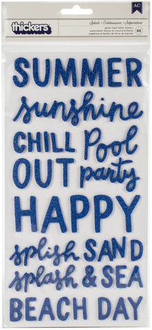 "566269 Oh Summertime Thickers Stickers 5.5""X11"""