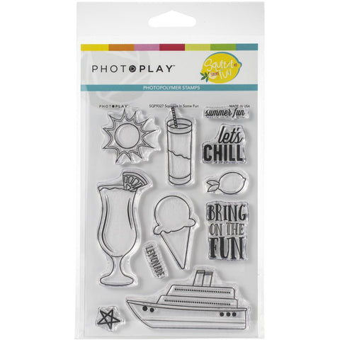 568121 PhotoPlay Photopolymer Stamp Squeeze In Some Fun