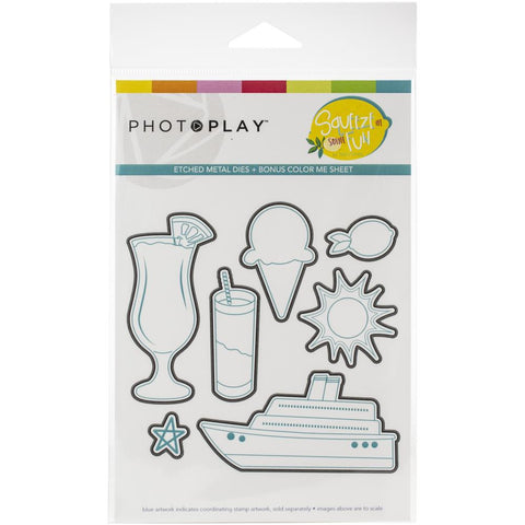 568122 PhotoPlay Etched Die Squeeze In Some Fun