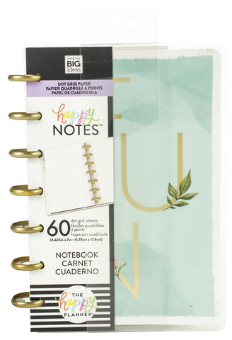 569370 Happy Planner Mini Notebook W/60 Sheets You Can Do Anything, Dot Grid