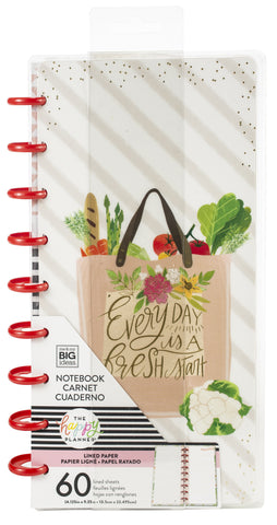 569591 Happy Planner Half Sheet Fill Paper 60/Pkg Foodie Note