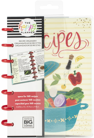 569801 Happy Planner Mini Undated Planner Recipe