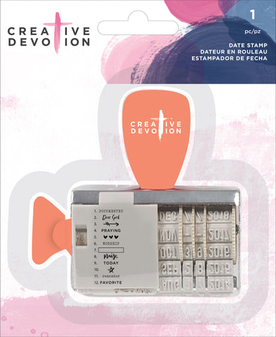 571325 Creative Devotion Rotary Stamp Phrases & Symbols