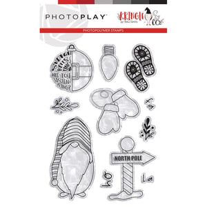 597900 PhotoPlay Photopolymer Stamp North Pole, Kringle & Co