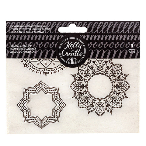 548798 Kelly Creates Acrylic Traceable Stamps Mandala
