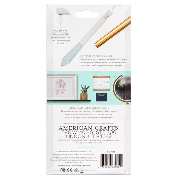 594603 We R Memory Keepers Foil Quill Freestyle Pen-Standard Tip