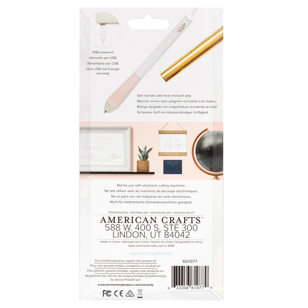 594601 We R Memory Keepers Foil Quill Freestyle Pen-Fine Tip
