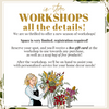 In-Store Workshop: Floral Arranging & Decor (Fri, 9/18/2020 @ 9 am)