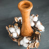 Cotton and Husk mini wreath/candle ring