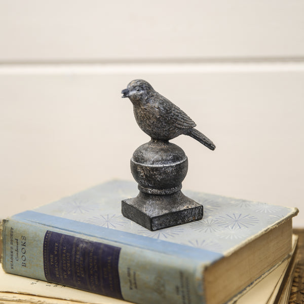 Resin Bird Faux Finial