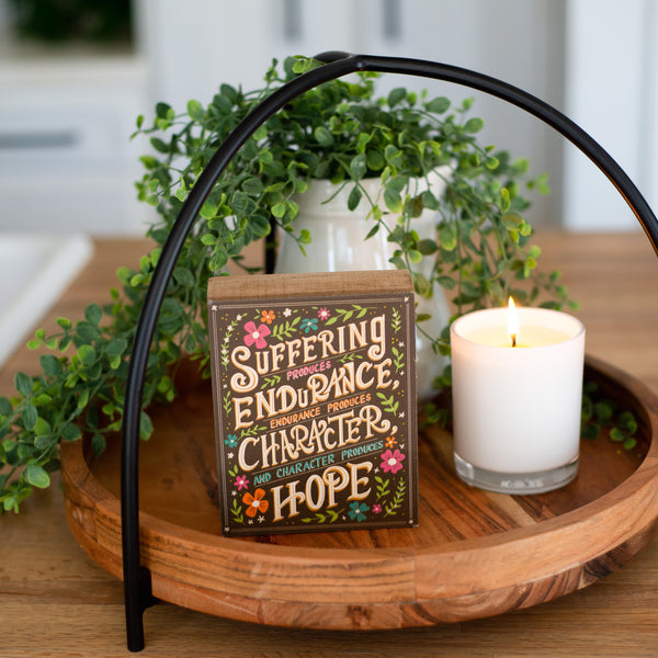"""Hope"" box sign"