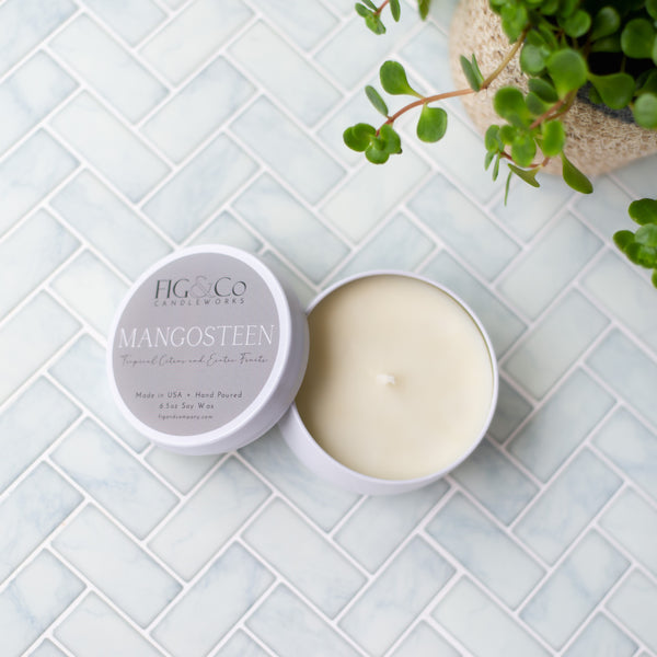 MANGOSTEEN Candle by FIG & Co. Candleworks, available in two sizes!
