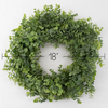 Eucalyptus Wreath in Green