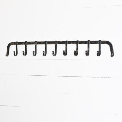 9 Hook Kitchen Rack
