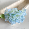 Hydrangea pick, assorted colors, 12""