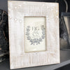 """Enjoy Little Things"" wooden frame, fits 4 x 6 photo"