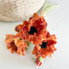 Autumn poppy bundle, 12""