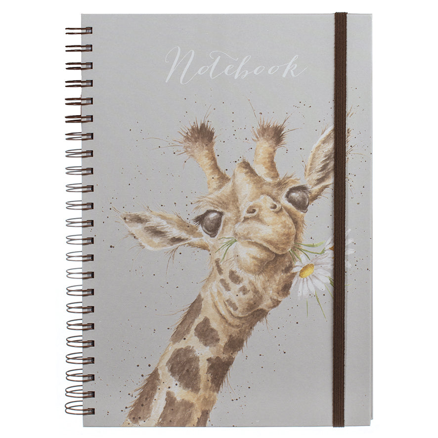 Giraffe Notebook, 12""