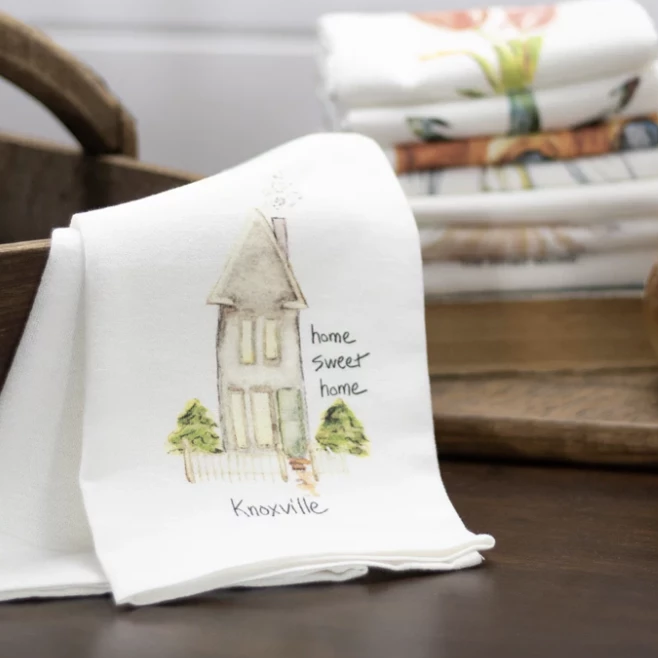 Tea Towel Home Sweet Home Knoxville