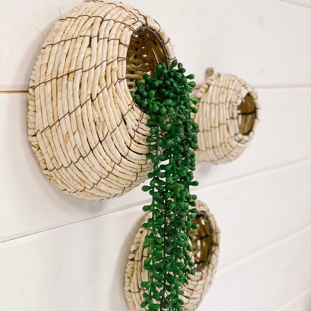 Bird Nest Wall Pocket, available in three sizes