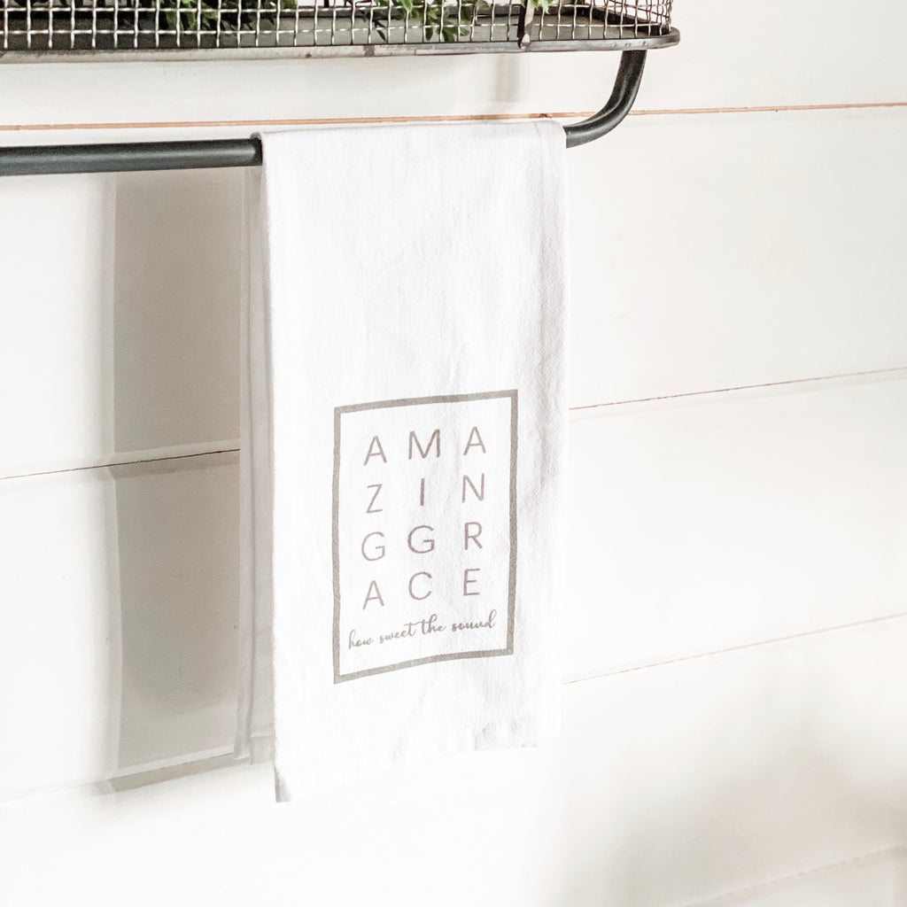 """Amazing Grace"" Hand Towel"