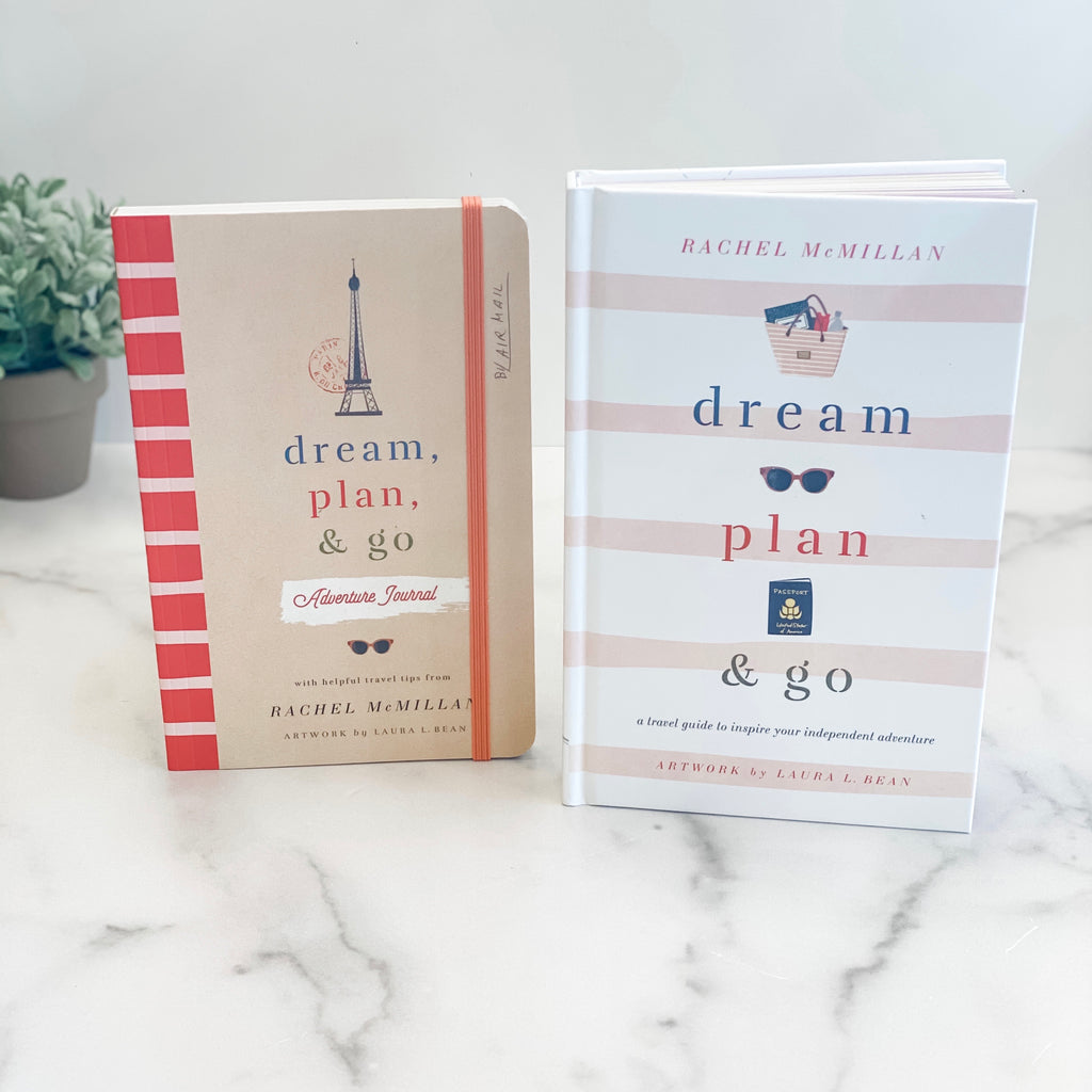 Dream, plan & go book and journal set!