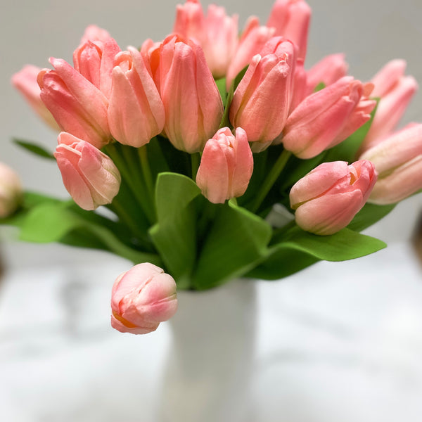 Pink tulip bundle